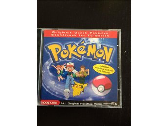 Pokémon soundtrack från film, OBS på danska