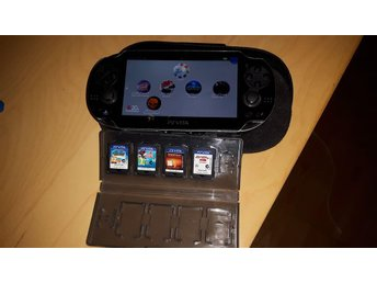 Playstation vita med spel