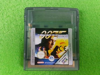 007 The World Is Not Enough Kassett Gameboy Color GBC - Hägersten - 007 The World Is Not Enough Kassett Gameboy Color GBC - Hägersten