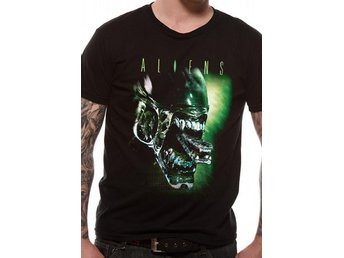 ALIEN - ALIEN HEAD (UNISEX)T-Shirt - Large