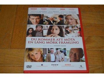 Du Kommer Att Möta En Lång Mörk Främling ( Antonio Banderas Josh Brolin ) - DVD - Töre - Du Kommer Att Möta En Lång Mörk Främling ( Antonio Banderas Josh Brolin ) - DVD - Töre