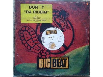 "Don T title* Da Riddim / Pal Off* 90's Golden Hip-Hop, Reggae 12"" US"