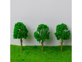 50st Miniatyrträd För Miniatyrlandskap etc 6.6CM Trees Model for Railroad