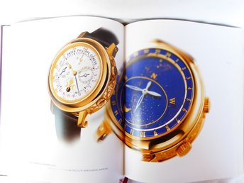 Inbunden produktkatalog Patek Philippe Geneve Collection 2005/2006 E