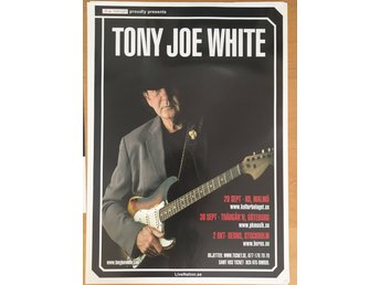 Poster Tony Joe White Berns i toppskick