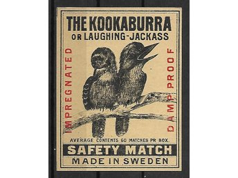 Sverige, The Kookaburra 72x94mm