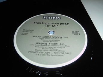 Sample from Record Station album Tip Tap (12a) 1987 sample promo