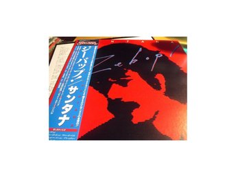 SANTANA ZEBOP! 1981 JAPAN PRESS JOURNEY OBI Vinylborsen-skivbutik