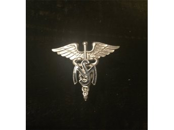 Vietnamera Medical Service Corps Officerare United States Army Nurse Badge USA