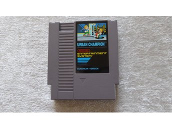 Urban Champion med manual - Nes 8bit