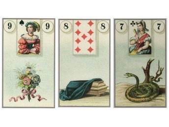 Easy Lenormand by Markus Katz - NY INPLASTAD. Tarot New Age.