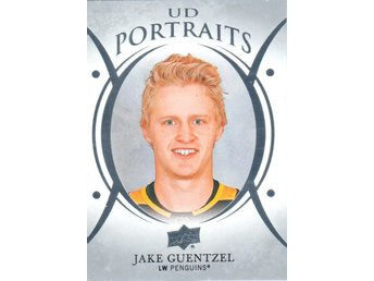2018-19 Upper Deck UD Portraits P-42 Jake Guentzel Pittsburgh Penguins