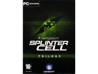 Splinter Cell Trilogy - Tom Clancys - PC spel
