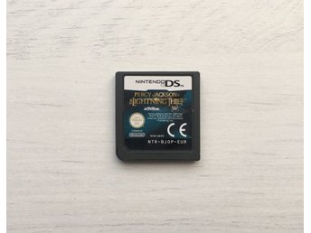 Percy Jackson and the Lightning Thief Nintendo DS Spel