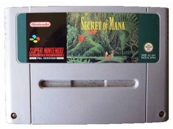 Secret of Mana (Tysk Version) - Super Nintendo