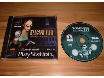 PS: Tomb Raider III 3 Adventures of Lara Croft