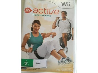 Wii Active more work out
