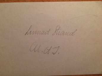 Lennart Strand - OS-silver 1948 - Friidrott - Gantofta - Lennart Strand - OS-silver 1948 - Friidrott - Gantofta