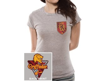 HARRY POTTER - HOUSE GRYFFINDOR  (FITTED) T-Shirt - Large