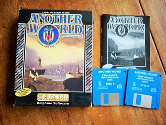 - ANOTHER WORLD - till Amiga, KOMPLETT!