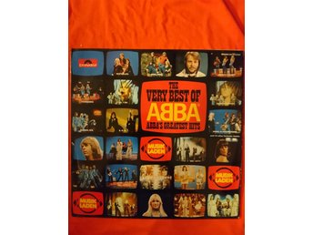 "ABBA  ""The very best of ABBA""  2xLP GATEFOLD   Germany, Essen  1976"