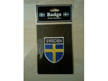 Sweden badge tygmärke