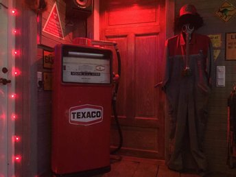 Texaco bensinpump 60-tal,retro