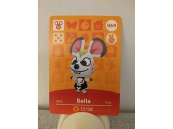 Animal Crossing Amiibo Welcome Amiibo card nr 069 Bella