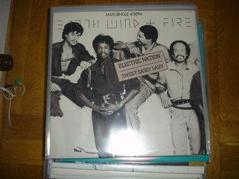 """12"" - Earth Wind & Fire - Electric Nation"