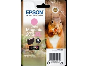 Epson Singlepack Light Magenta 378XL Claria Photo HD Ink