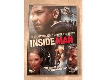 Inside man. Denzel Washington, Jodie Foster, Clive Owen