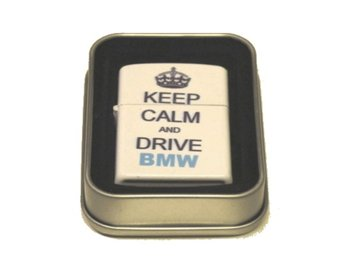 BENSINTÄNDARE Keep calm and drive BMW