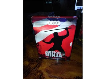 American ninja ultimate Collection 4 Disc OOP