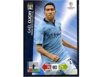 GAEL CLICHY - MANCHESTER CITY - CHAMPIONS LEAGUE 2012-2013