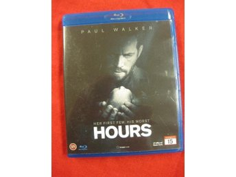 HOURS  -  PAUL WALKER  - BLU-RAY