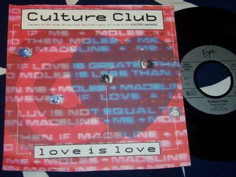 "CULTURE CLUB - LOVE IS LOVE 7"" 1985"