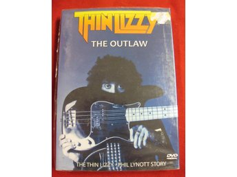 THIN LIZZY THE OUTLAW : THE THIN LIZZY - PHIL LYNOTT STORY - NY, INPLASTAD DVD
