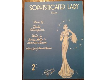 Sophisticated Lady vocal - Music by Duke Ellington