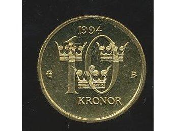 1994 10 kr Carl XVI - Västra Frölunda - 1994 10 kr Carl XVI - Västra Frölunda