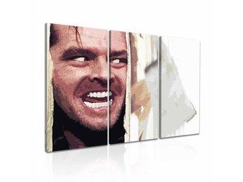 THE SHINING - 3 delad CANVASTAVLA - Jack Nicholson (WOW!) - Norrsundet - THE SHINING - 3 delad CANVASTAVLA - Jack Nicholson (WOW!) - Norrsundet