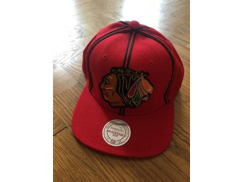 Chicago Blackhawks NHL Snapback Keps Mitchell & Ness M&N
