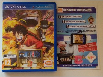 PlayStation Vita: One Piece: Pirate Warriors 3 III (oanvänt)