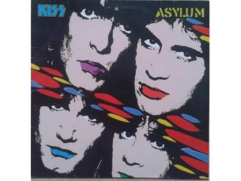 Kiss title*  Asylum* Netherlands LP