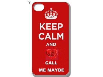 Keep Calm iPhone 5-5S Skal D2 - Kista - Keep Calm iPhone 5-5S Skal D2 - Kista