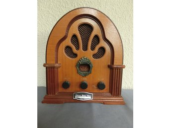 Retro radio, Collector´s Edition Radio, batteridriven, fungerar