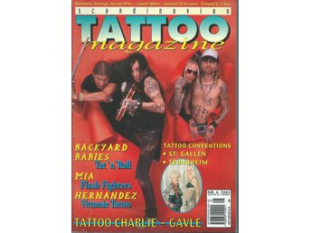 TATTOO MAGAZINE  - NR 6  2003