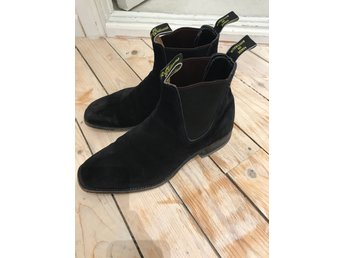 R.M Williams Blaxland suede black storlek 41