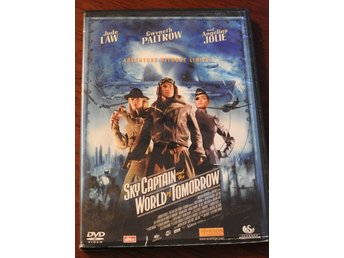 Sky Captain and the World of Tomorrow DVD (Jude Law, Angelina Jolie)