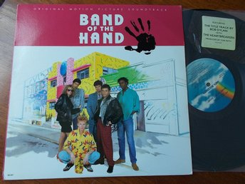 V/A BAND OF THE HAND LP Soundtrack MCA USA 1986 Bob Dylan