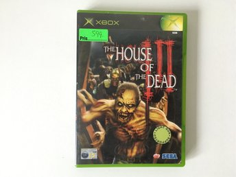 XBOX - House of the Dead 3 - Tv-Spel - Action, Shooter